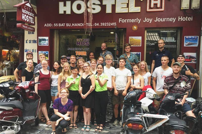 Hanoi City Backpackers Hostel one of the best party hostels in Hanoi, Vietnam