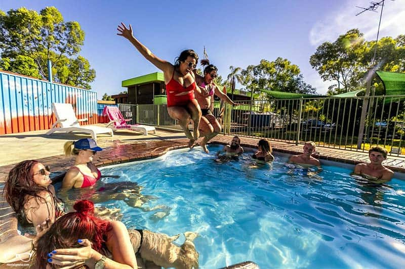 Haven Resort one of the hostels in Alice Springs, Australia