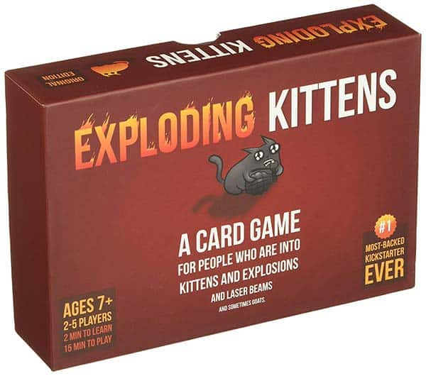 Hostel Card Games; Add Exploding Kittens to your list