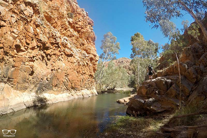 Larapinta trail things to do in Alice Springs