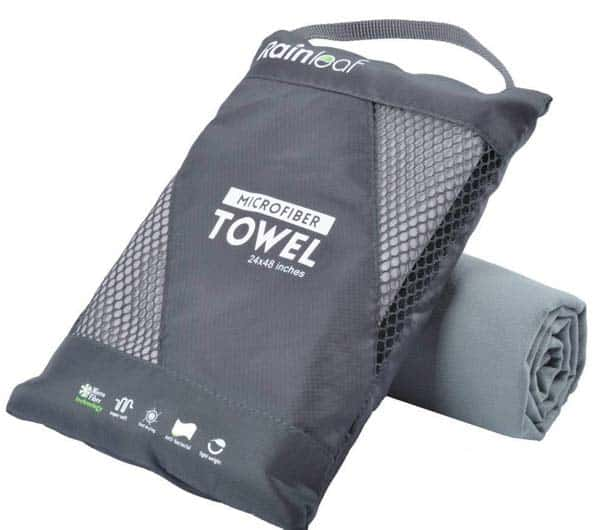 Micofibre Travel Towel, a must-have for backpacker