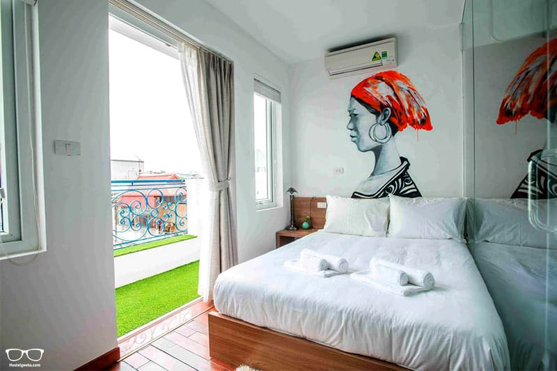 NEXY Hostel one of the best hostels in Hanoi, Vietnam