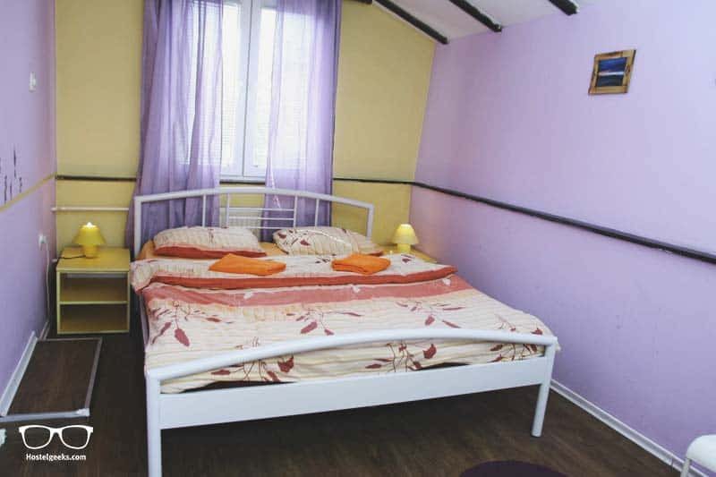 Private Room at Shanti Hostel, one of the best hostels in Skopje