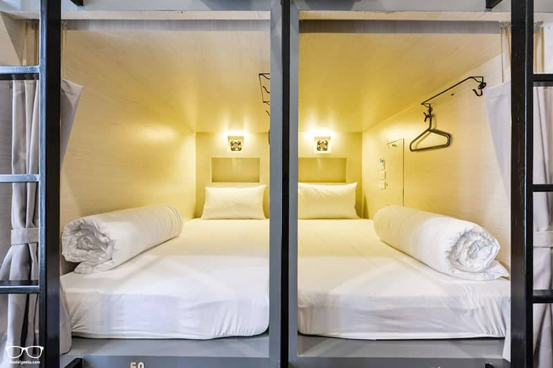 The Cube Hostel one of the best hostels in Bangkok for solo travellers
