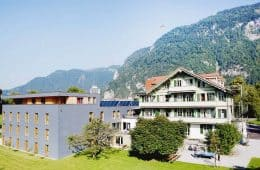 Backpackers Villa Sonnenhof in Interlaken - Adrenalin-kick and 5% Discount in Summer and Winter