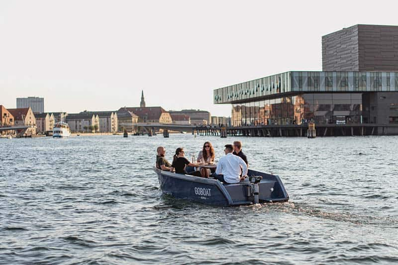 Boat Rental in Copenhagen, perfect for dates and birthdays