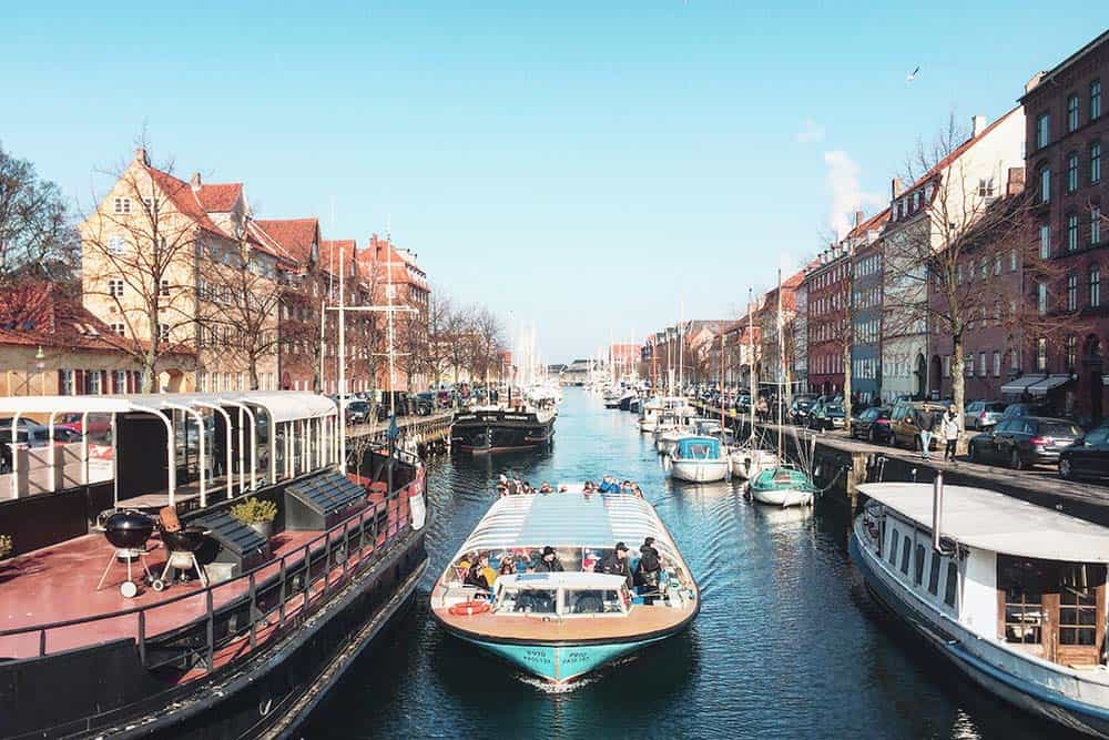 Discover Copenhagen from a boat