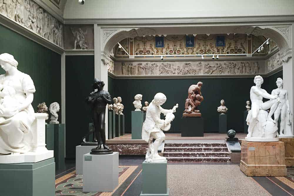 Glyptoteket museum in Copenhagen
