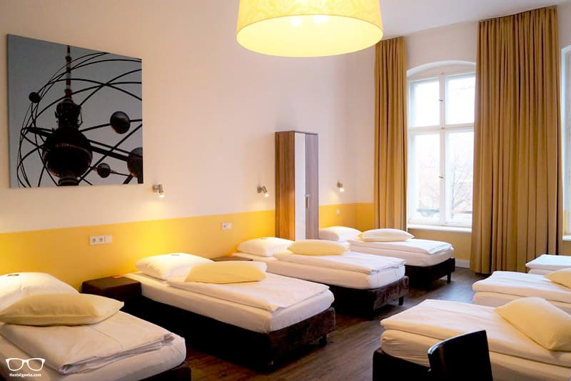 Grand Hostel Berling Classic one of the best hostels in Berlin, Germany
