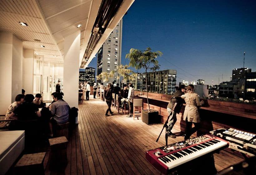 Sky Bar at Hotel Pulitzer in Buenos Aires