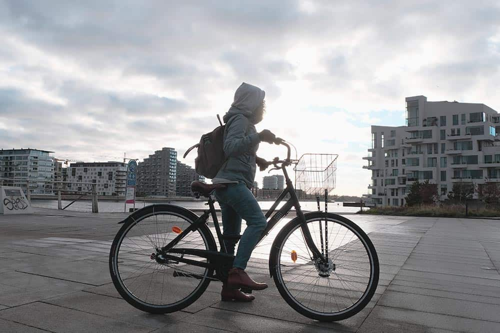 Discover Copenhagen with a bike