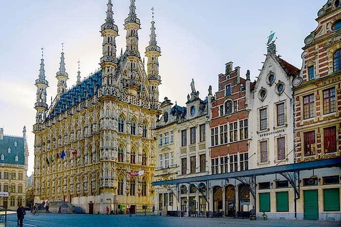 Visit Historical Leuven Town hall