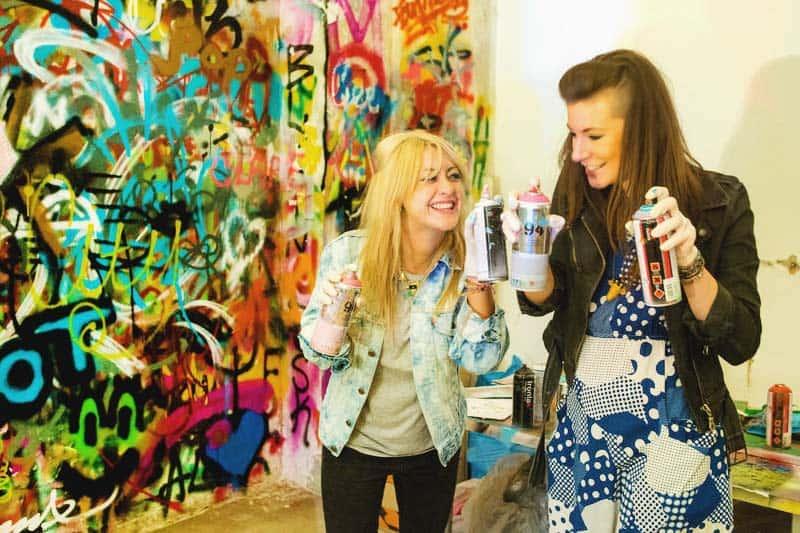 Street Art, Graffiti Tour and Workshop