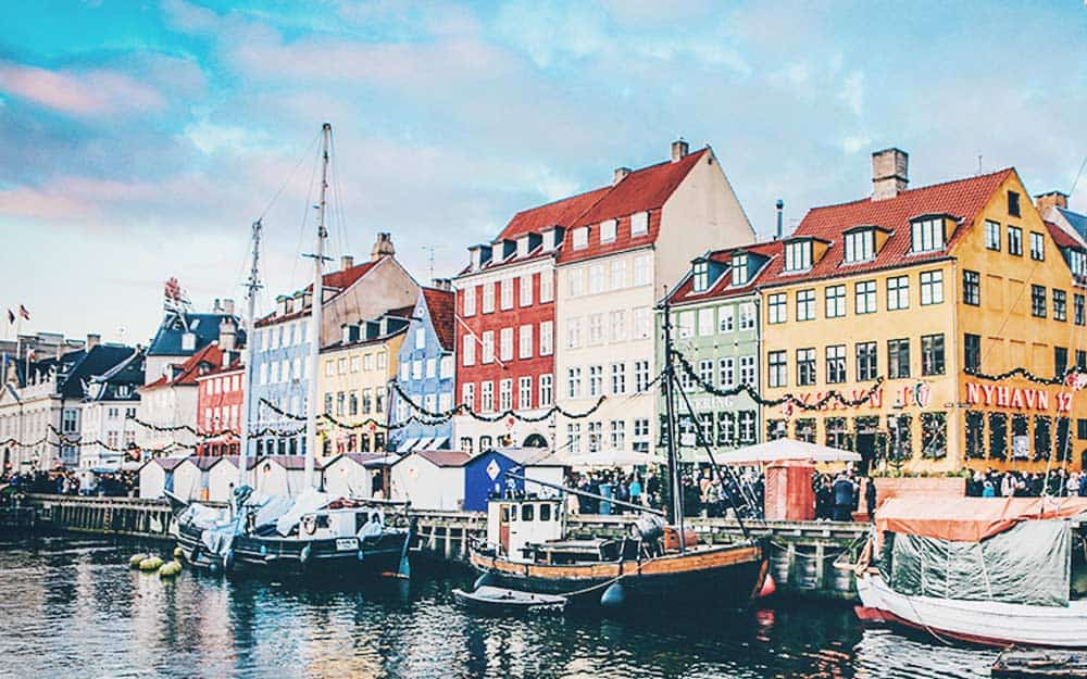 Nyyhav one of the must things to do in Copenhagen