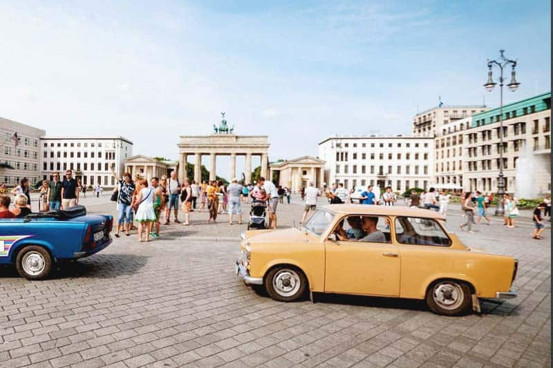 Drive a Trabbi Car through Berlin - Unique!