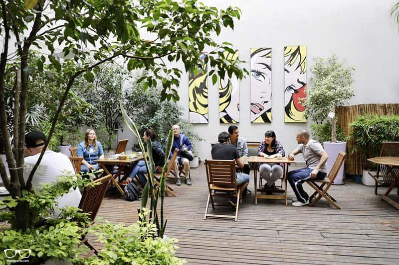 America del Sur Hostel one of the best hostels in Buenos Aires, Argentina
