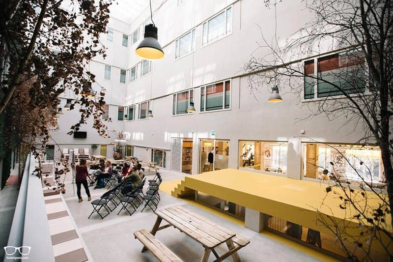 ClinkNOORD Hostel one of the best hostels in Amsterdam, Netherlands