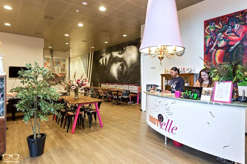 Hostelle one of the best hostels in Amsterdam, Netherlands