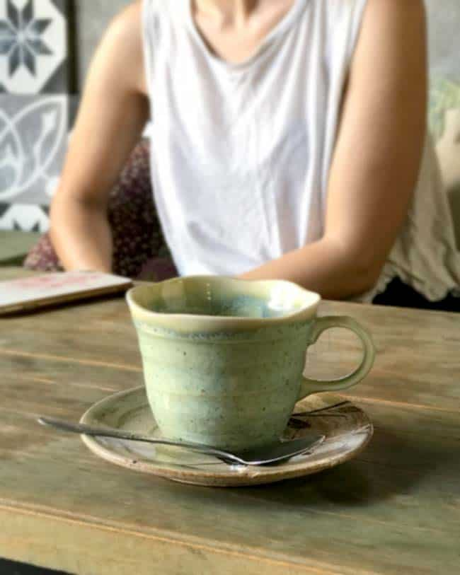 Cup of coffee at Memory Hostel Da Nang