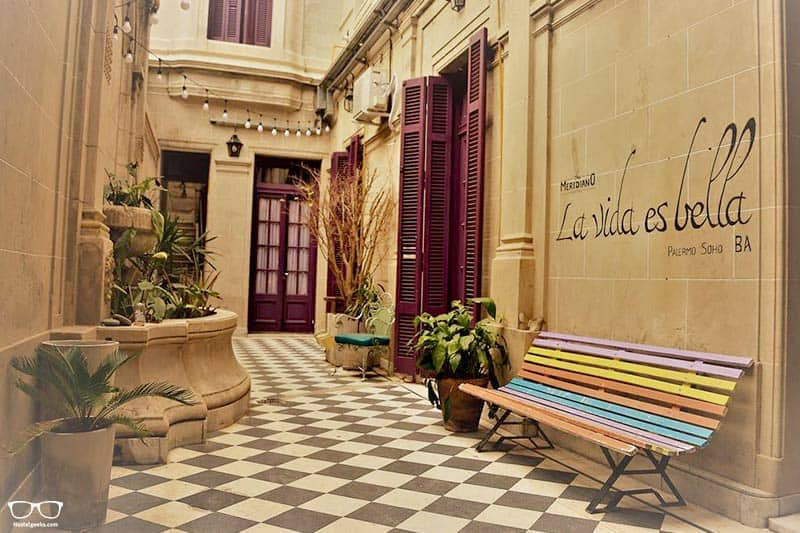 Meridiano Hostel Boutique one of the best hostels in Buenos Aires, Argentina