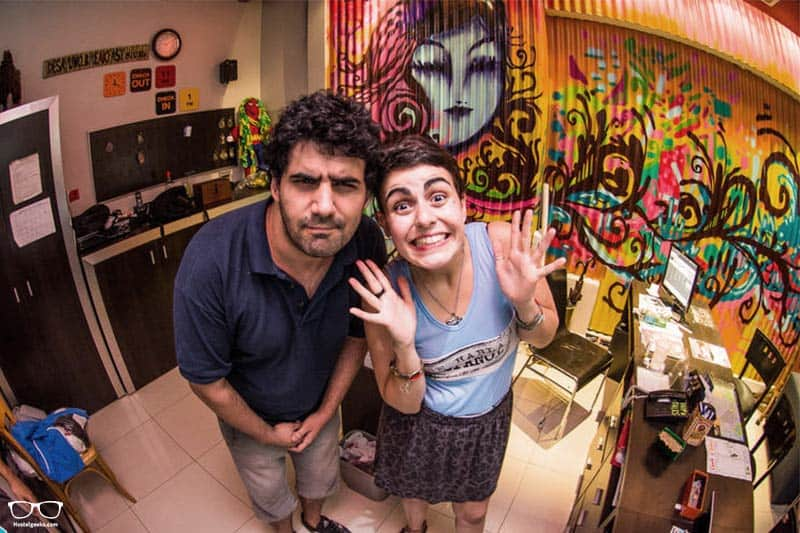 Milhouse Hostel Hipo one of the best party hostels in Buenos Aires, Argentina