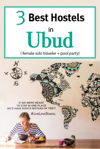 Best Hostels in Ubud, complete guide and overview for backpackers