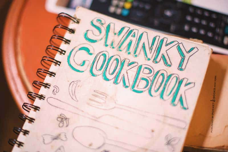 What's cookin'? the Cookbook at Swanky Mint
