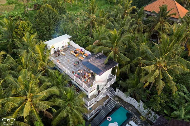 Pillow Inn one of the best hostels in Ubud, Indonesia