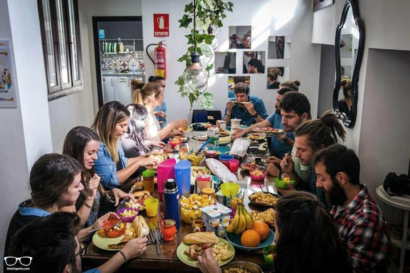 The Lights Hostel one of the best hostels in Malaga, Spain