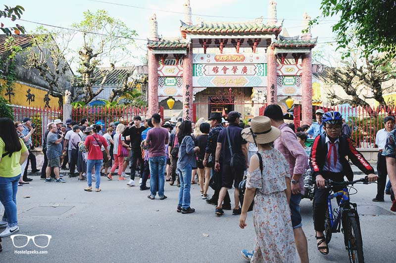 Tourists in Hoi An