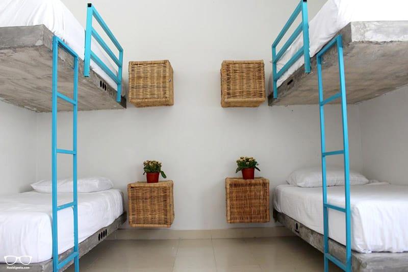 X'Keken Hostel one of the best hostels in Tulum, Mexico