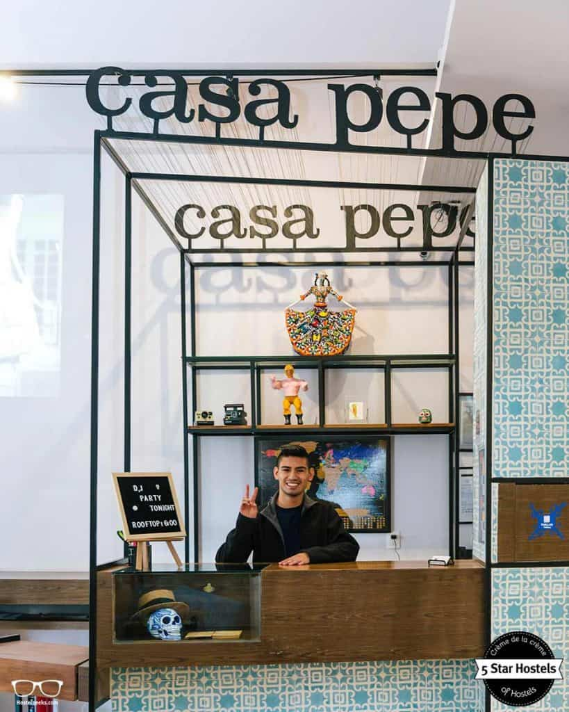 Ask the staff at Casa Pepe for recommendations