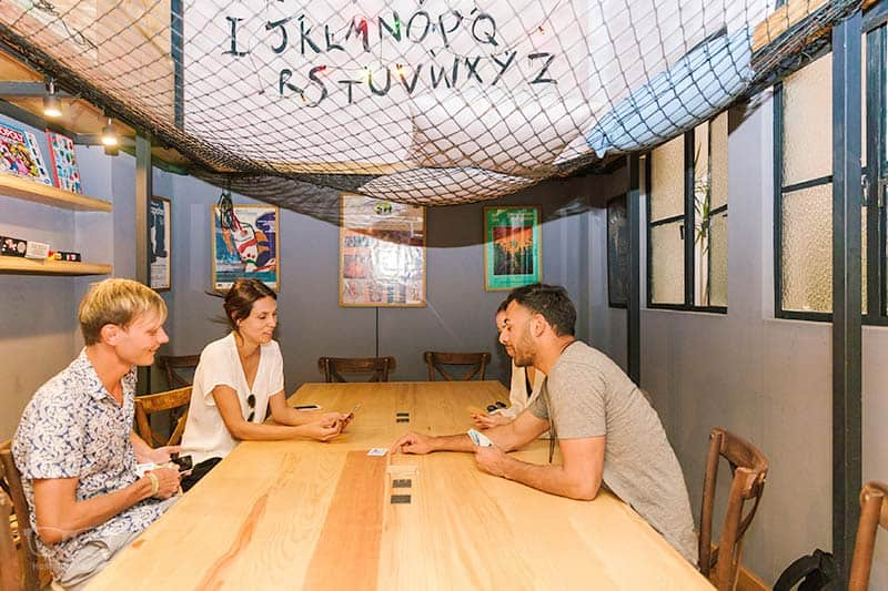 Wanna play a game? Join the game nights at Casa Pepe and meet your fellow hostel mates