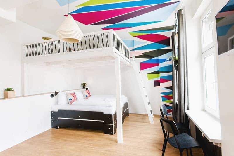 Best Boutique Hostels in Hamburg? The stylish Pyjama Park Schanzenviertel offers cool dorms and private rooms