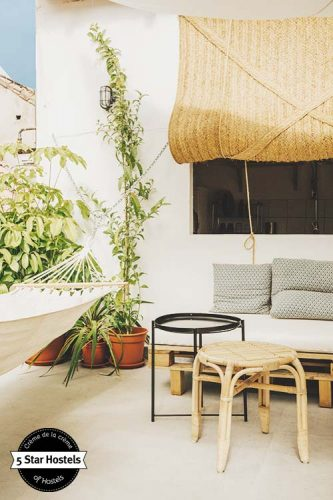 Fancy a hammock? Stay at the beautiful Boutque Hostel Urban Jungle