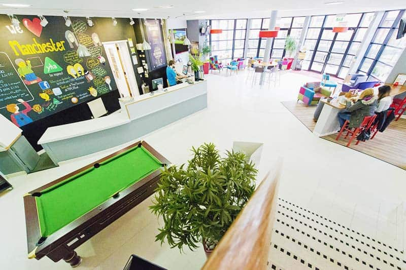 YHA Manchester - the only place we can really recommend