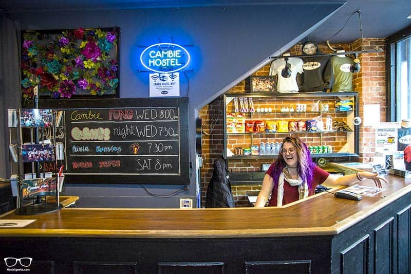 Cambie Hostel - Best Party Hostels in Vancouver, Canada