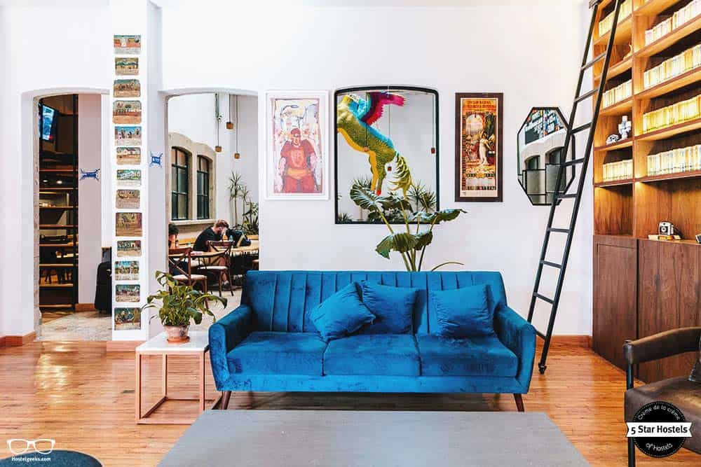 Casa Pepe is a beautiful design hostel in Mexico City