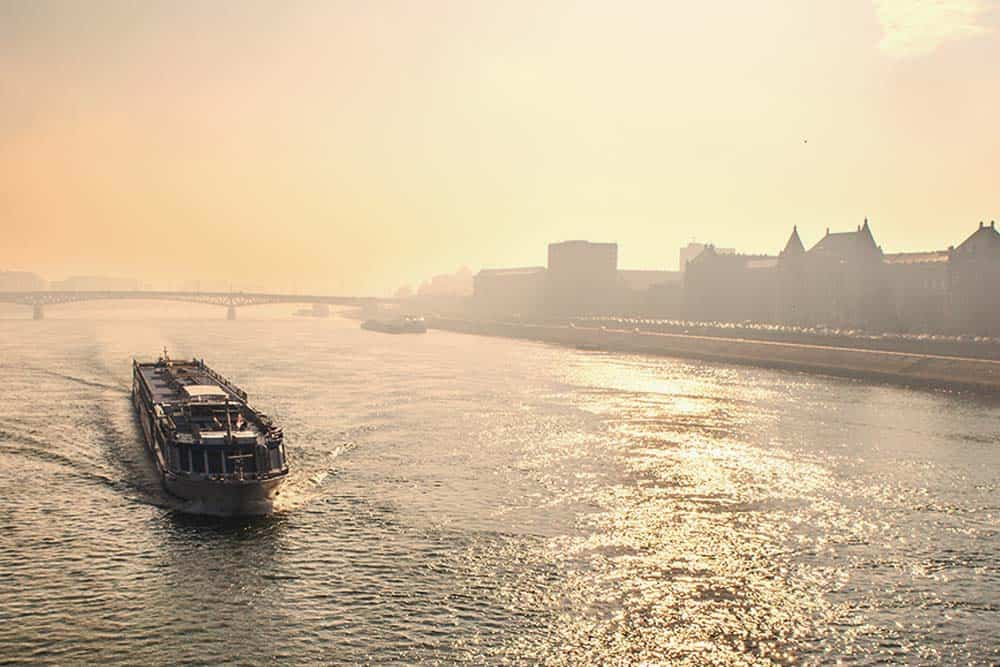 cruise along the Danube in Budapest