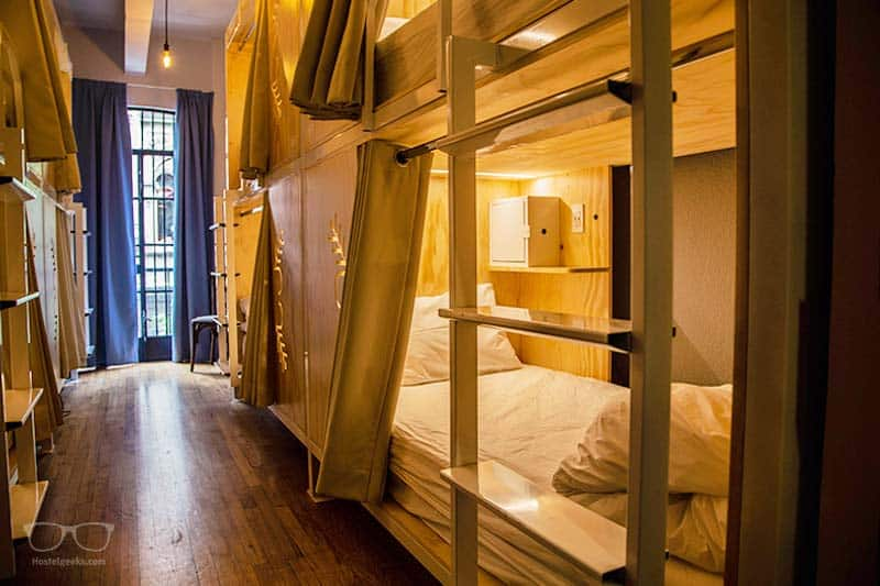 Luxury Bunk Beds at Casa Pepe in Mexico City