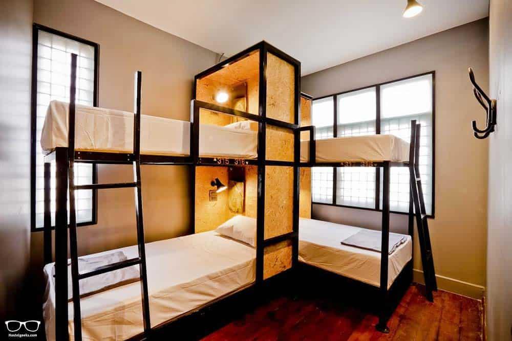Dorm Bed and Bike, Bangkok best guesthouse