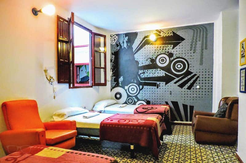 The dorms at Home Youth Hostel by Feetup Hostels