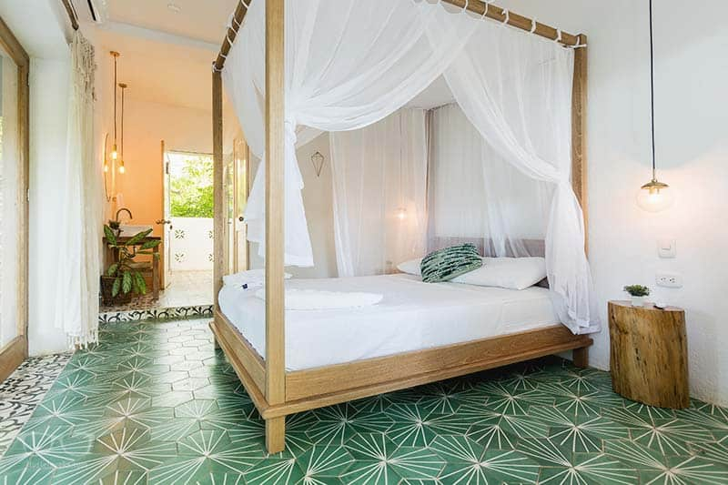 Luxury Hostels are on the rise; Casa del Pavo Real in Palomino, Colombia