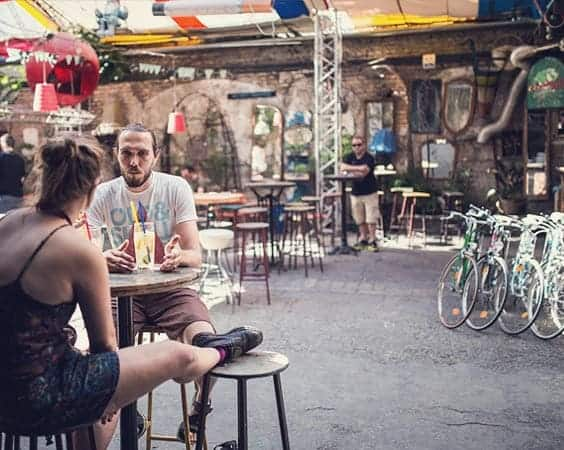 Nightlife + Art + Flea Market: Szimpla Kert