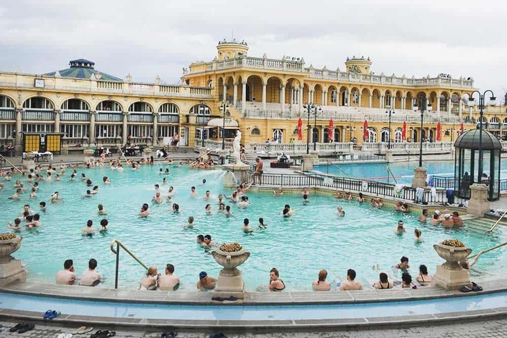 Enjoy a thermal bath in Budapest