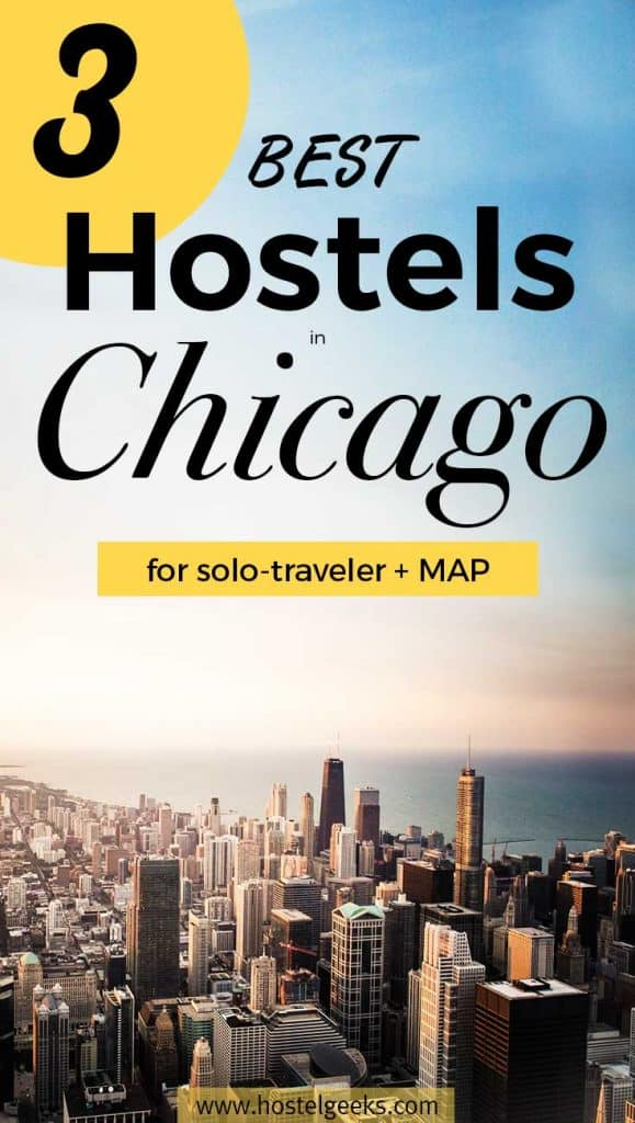 3 Best hostels in Chicago