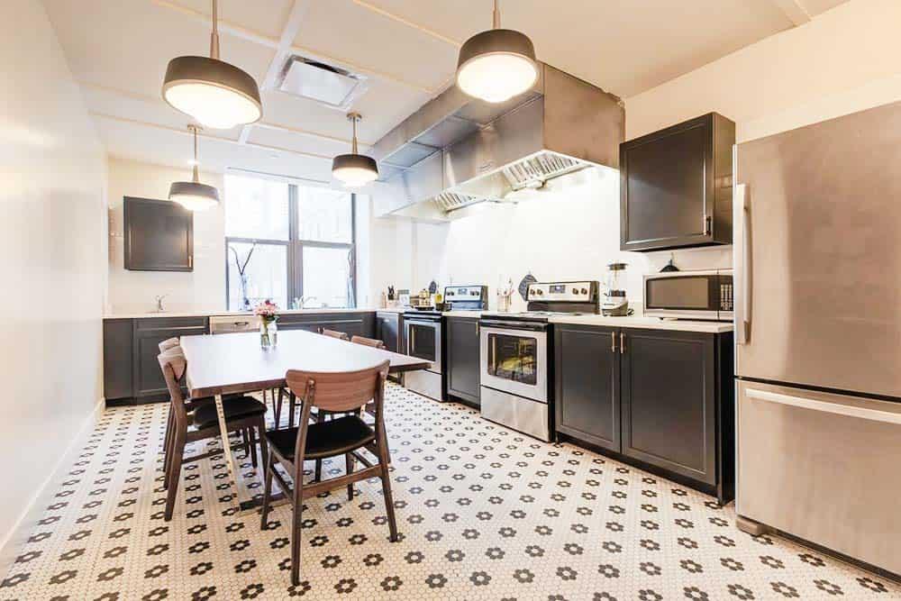 kitchen at Found Hotel Chicago