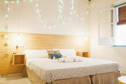 The Nomad private room budget hostel Seville