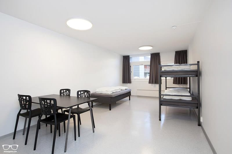 Anker Hostel is one of the cheapest hostels in Oslo, Norway