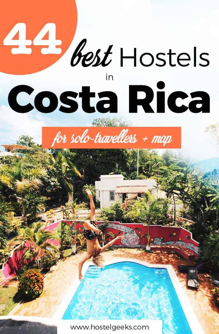 43 BEST Hostels in Costa Rica 2019 (Solo-Traveller, Backpacker + Map)
